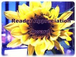 Reader Appreciation Awarrd