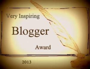 Veery Inspiring Blogger Award