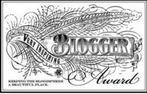 Very Inspiring Blogger Award August 20, 2012